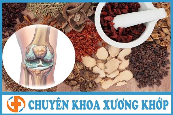 dong y chua thoai hoa khop goi bang phuong phap ket hop