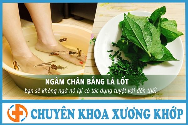 chua thoai hoa khop hang bang thuoc nam voi la lot