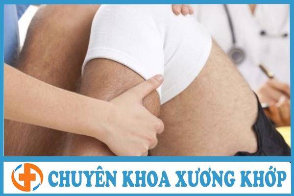 dau khop goi do chan thuong sun chem